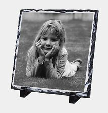 Personalised Photo Slate 20cmPrinted With You're Picture, offers us 2X£15.49