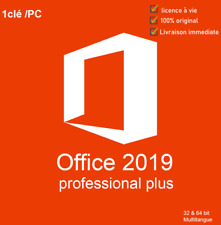 MICROSOFT®OFFICE 2019 PROFESSIONAL PLUS 32/64 BIT LICENSE KEY✔️🔥