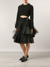 Comme Des Garcons CDG Mainline Black Cropped Wool SweaterJumper £591