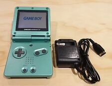 Nintendo Game Boy Advance GBA SP Pearl Green System AGS 001 MINT NEW
