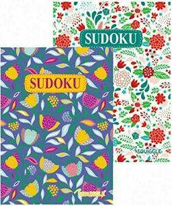 2 Pack Sudoku Puzzle Books Book 220 Challenge Puzzles Pages