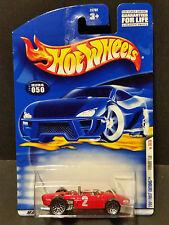 2001 Hot Wheels #50 First Editions 30/36 Ferrari 156 : 28762