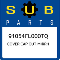 91054FL000TQ Subaru Cover cap out mirrh 91054FL000TQ, New Genuine OEM Part
