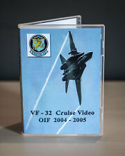 VF-32 Swordsmen F-14 Tomcat Cruise OIF 2004-2005 DVD Video