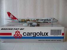 JC Wings Cargolux Cargo, B747-8F,  Reg#LX-VCM,1:400 ***VERY RARE***