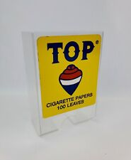 New TOP Rolling Paper wall mount holder store display Dispenser Sign