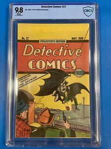 Detective Comics #27 CBCS 9.8 (1984 Reprint) Oreo Cookies Giveaway First Batman