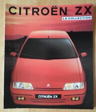 CITROEN ZX range 1991 French Market sales brochure