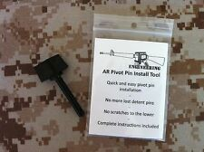 Lower Receiver Pivot Pin Install Tool -15 Tactical Gunsmith or Armorer must have