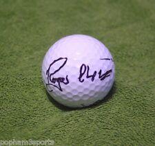 ROGER CHAPMAN Signed/Autographed GOLF BALL w/COA