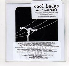 (GM968) Girlpool, Before The World Was Big - 2015 DJ CD