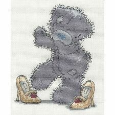 DMC TATTY TEDDY ME TO YOU MUM'S SHOES COUNTED CROSS STITCH KIT BL1130/72