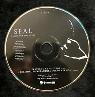Audio CD - SEAL - Prayer for The Dying SINGLE - USED Like New (LN) WORLDWIDE