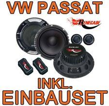 VW Passat 3B 3BG  16cm LAUTSPRECHER BOXEN SET FRONT-HECK 2-WEGE Renegade NEU