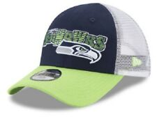 0e14527bd1e Seattle Seahawks NFL New Era 9Forty Youth Trucker Snapback Hat