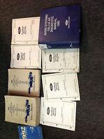 1992 Ford F150 F250 F350 BRONCO TRUCK Service Shop Repair Manual Set W TSB +