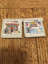 Nintendo 3DS Paper Mario: Sticker Star And Moshlings Theme Park Games Only