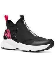Michael Kors женские ивы акваланга кожа без шнурков тренажер кроссовки, обувь, черный