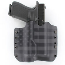 OWB Kydex Holster with TLR-1 Attachment - RMR Compatible - USA Stealth Black