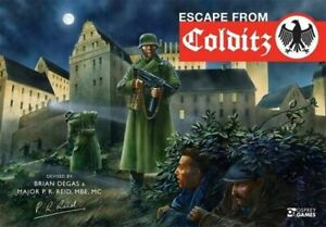 NEW Escape from Colditz: 75th Anniversary Edition By Brian Degas Game