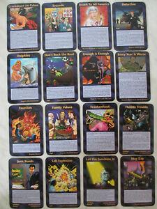 Assassins 83 CARD INWO Illuminati SJG 1995 NEW WORLD ORDER GAME COMMON UNCOMMON