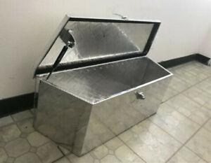 """35"""" Aluminum Trailer Tongue Tool Box Underbed Storage 35""""(L) x 12""""(H) X 12"""" (D)"""