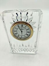 Waterford Vintage Small Desk Mantle Shelf Clock Untested (M1)