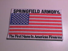 SPRINGFIELD ARMORY FIRST NAME IN AMERICAN FIREARMS RIFLE GUN HUNTING PATCH NEW