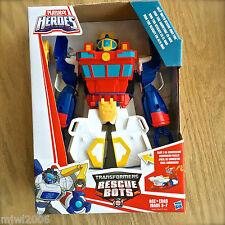 "Transformers RESCUE BOTS DEEP WATER HIGH TIDE 12"" Playskool Heroes Boat Robot"