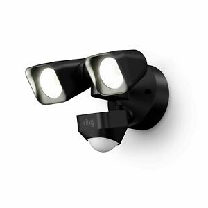 Ring Smart Lighting Floodlight Wired BLACK security motion light  (location 23E)