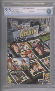 Life With Archie  37  CBCS 9.8  Thompson Variant