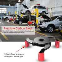 """3 Jaw Oil Filter Wrench, 2-1/2"""" to 3-7/8"""" Range, Auto-Adjust, Universal Car Tool"""