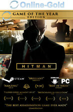 Hitman - Game of The Year Edition Key - PC STEAM Download Code GOTY - [DE/EU]