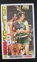 1976-77  Topps Basketball  #90JOHN HAVLICEK  nrmnt