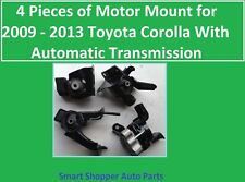 4 Pieces of Motor Mount for 2009 2010 2011 2012 2013 Toyota Corolla 1.8 A/T