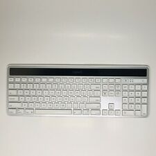 Logitech Wireless Solar Keyboard K750 With Unifying Receiver Great Condition
