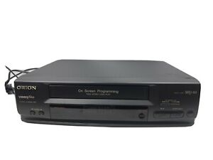 VCR ORION D2097 LP SP VHS VIDEO RECORDER, INCLUDING MANUAL & INSTRUCTIONS