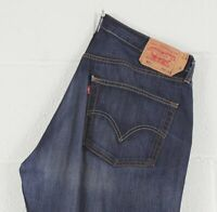 Vintage Levi's 501 Straight Fit Men's Blue Jeans W38 31