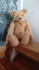 Loveable & HUGGABLE OOAK osito de peluche por bearies encantado Reino Unido, Mohair & gruñón