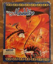 More details for disney's aladdin amiga 1200 big box 3 disk virgin vintage 1994