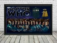 Doctor Who Signed Photo Print Poster Autographed Memorabilia