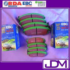 EBC 4x4 Greenstuff 6000 Series Front & Rear Brake Pads NISSAN PATROL GU
