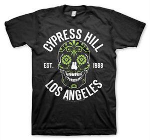 Officially Licensed Cypress Hill - Sugar Skull Men's T-Shirt S-XXL Sizes