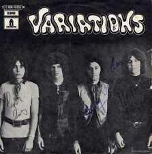 """VARIATIONS """"COME ALONG"""" ORIG FR 1969 HARD ROCK AUTOGRAPHED"""