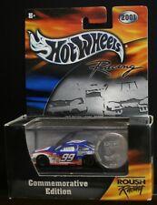 NEW HOT WHEELS RACING 2001 COMMEMORATIVE ED. ROUSH BURTON CITGO 99 COIN TOKEN