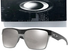 NEW* Oakley TWO FACE XL Matte BLACK POLARIZED PRIZM Black Ird  Sunglass 9350-10