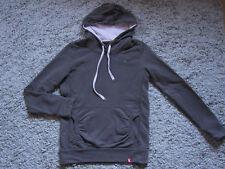 edc Cardigan Jacke Hoodie Sweater  Pullover Kapuze Braun Vintage  Gr. S 36 38