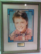 Authentic Walt Disney World Co Michael J Fox Signed Photo Original Autograph COA