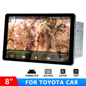 Android 10 8 Inch Double 2Din Universal For Toyota Hilux FJ cruiser RAV4 Scion