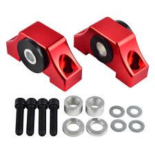 Engine Motor Solid Billet Aluminum Torque Mount Kit For Honda Civic D16 D15 Red